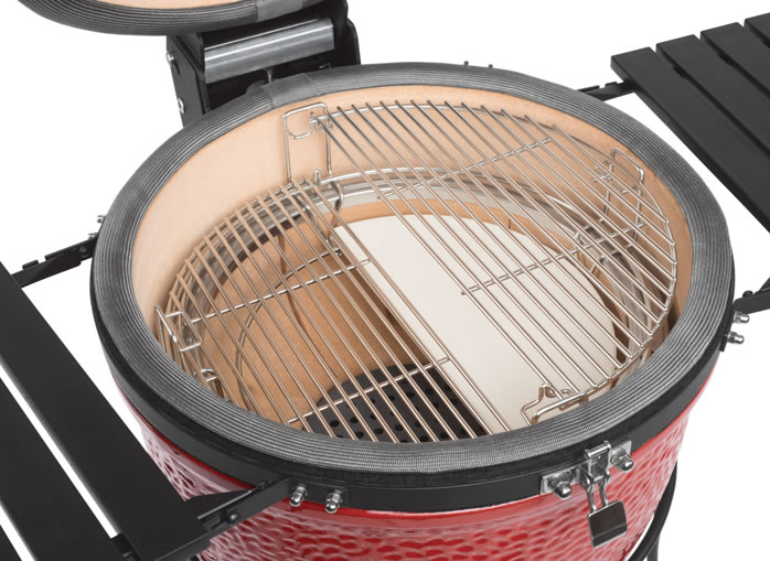 Kamado Joe BBQ Grill Divide & Conquer Flexible Cooking System